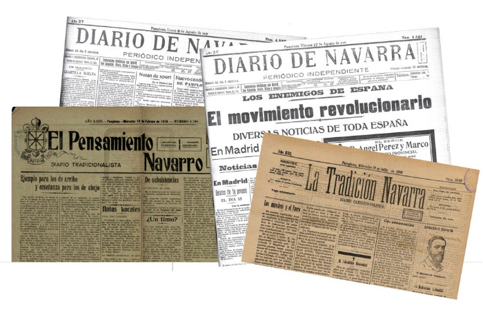 (Gazt)  Diablo  de  Navarra  frente  a  la  Revolución  rusa:  llamado  a  tomar  las  armas  y  cultivo  del  36