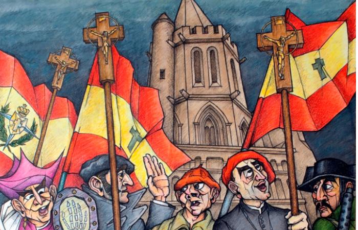 La Javierada y Diario de Navarra, una historia de exaltación fascista