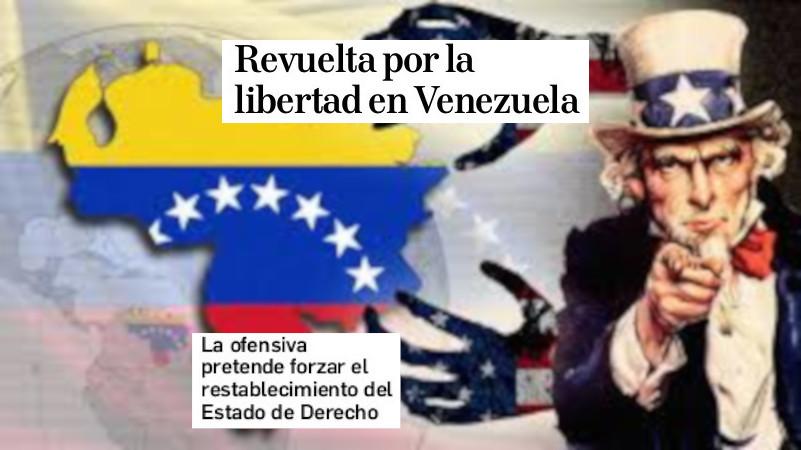 Diario  de  Navarra  y  Venezuela:  Al  servicio  de  los  EEUU  y  la  extrema  derecha