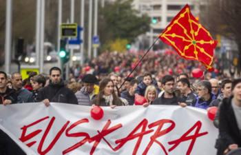 La situación del euskara está unida a su historia