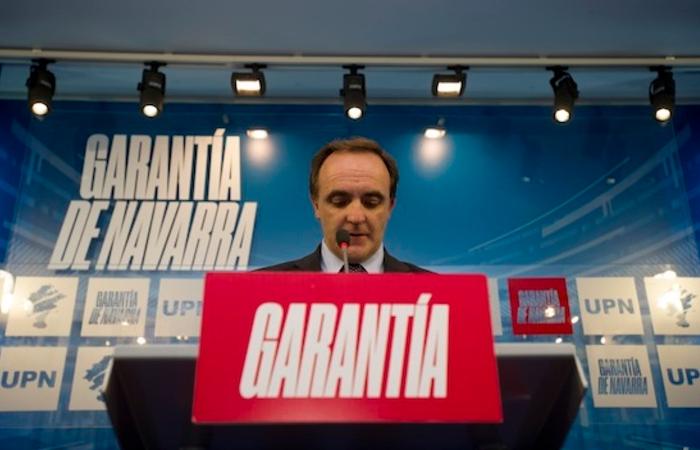 """Esparza: """"Chivite ha elegido la peor compañía para crear empleo, Bildu»"""